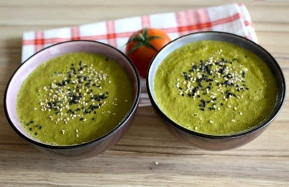 Receta de gazpacho de kale