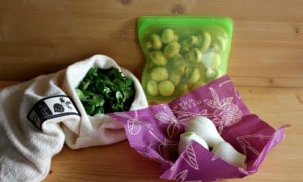 ¿Cómo envolver y guardar los alimentos de forma natural?