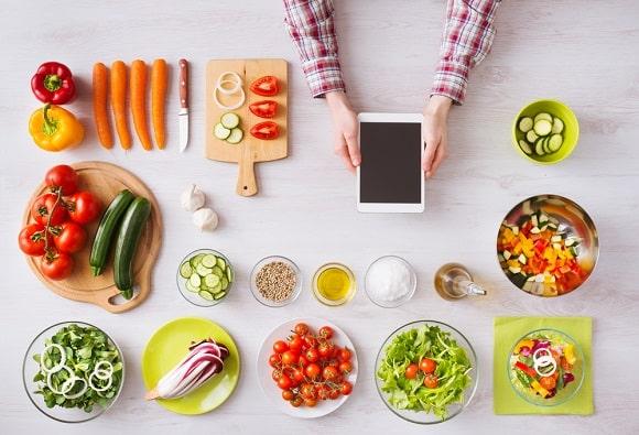 La tecnología móvil nos ayuda en la cocina