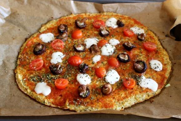 Pizza casera para adelgazar