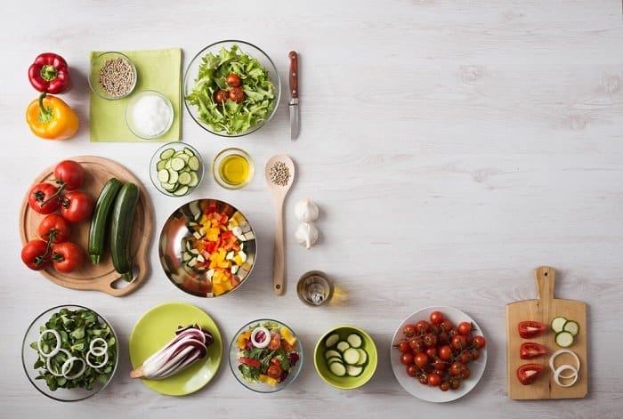 Organizar menú semanal saludable