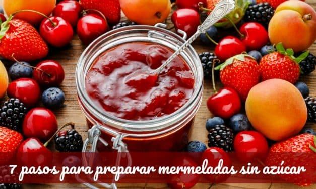 7 pasos para hacer mermeladas caseras sin azúcar y perfectas