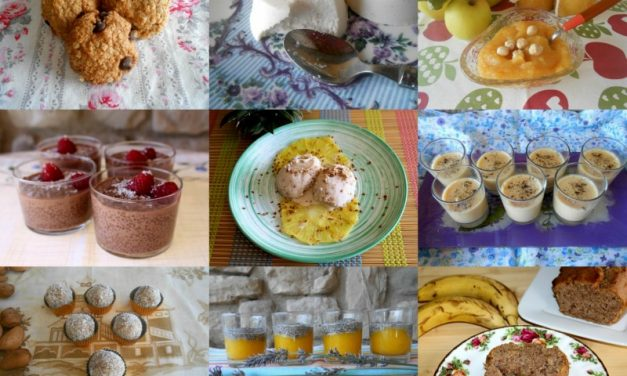 9 recetas dulces sin azúcar