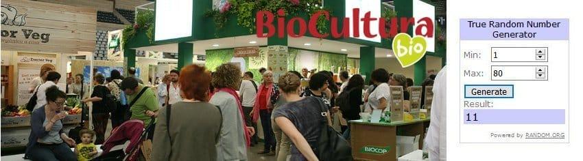 Ganadores del sorteo de entradas para Biocultura Barcelona 2019
