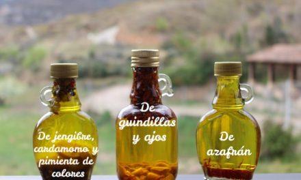 5 aceites aromáticos caseros para aliñarlo todo