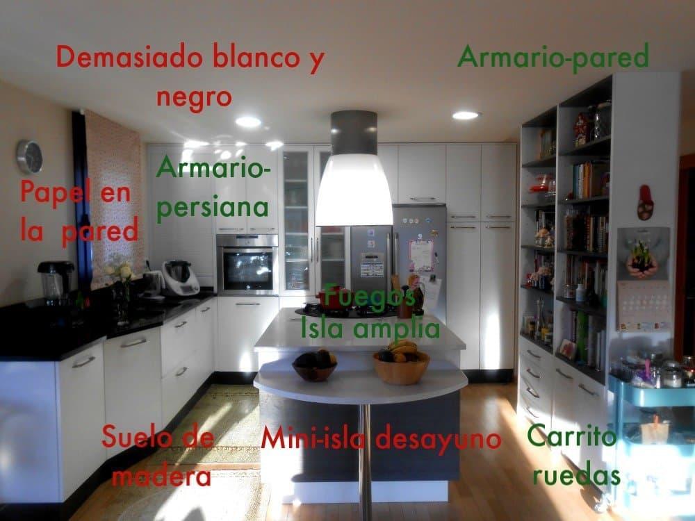 errores diseñar cocina