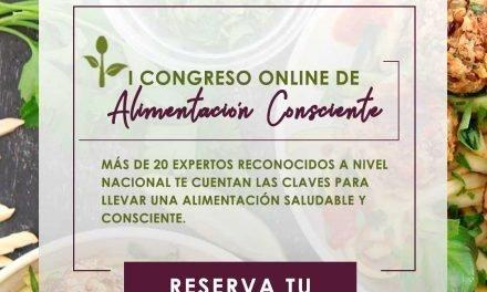 I Congreso Online de Alimentación Consciente (¡y yo soy una ponente!)