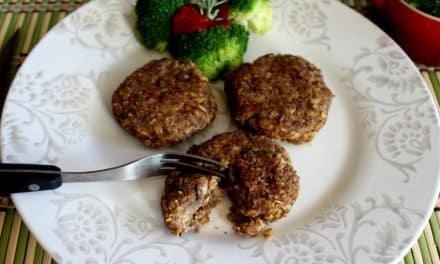 Receta de hamburguesa de alubias y champiñones