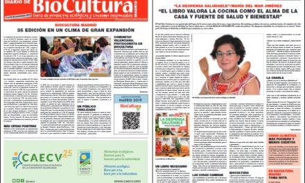 Me entrevistan en el diario de BioCultura sobre la despensa saludable