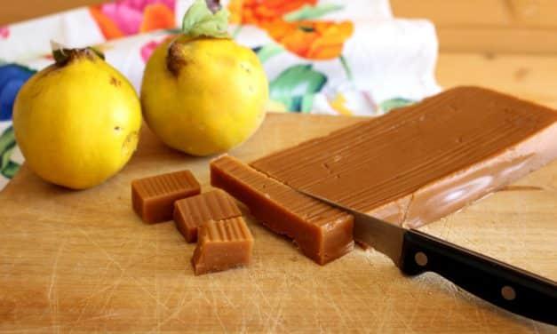 Receta de dulce de membrillo saludable