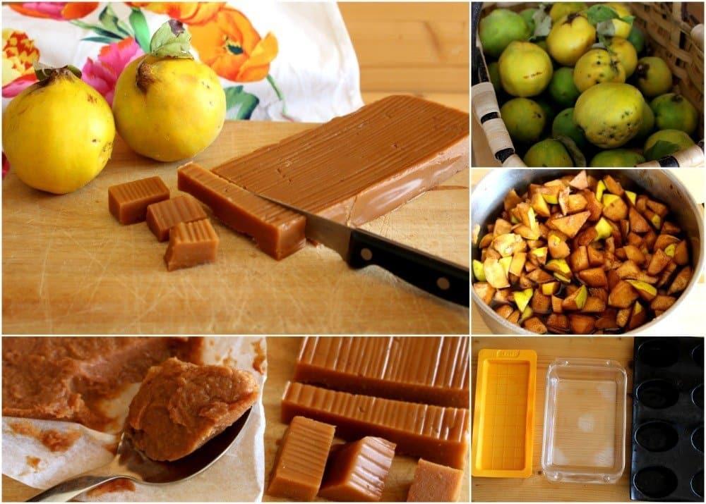 Pasos receta de dulce de membrillo