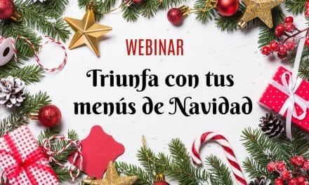 Triunfa con tus menús de Navidad: conferencia online