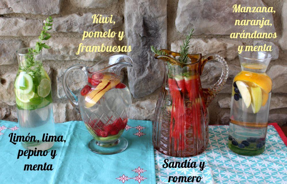 4 aguas aromáticas para refrescarte de forma natural