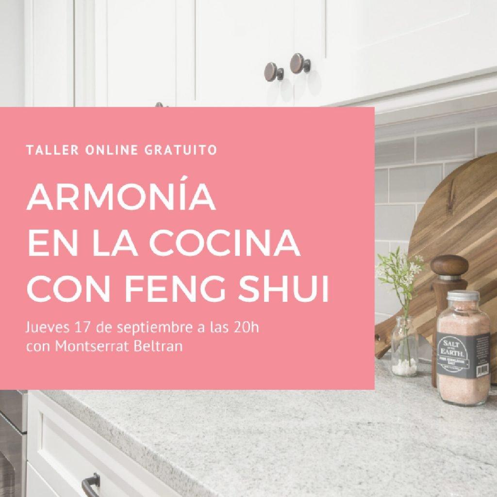 armonía en la cocina con Feng Shui