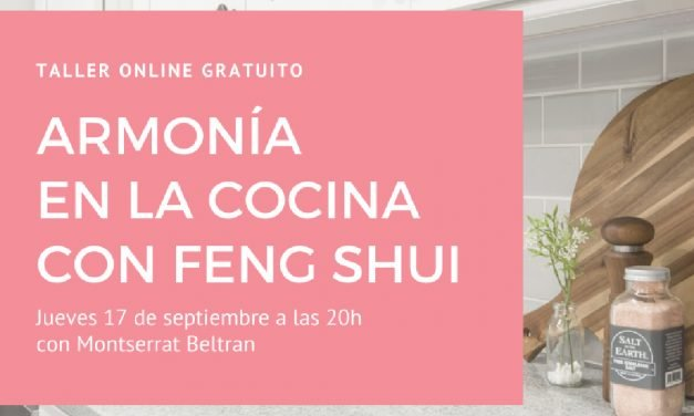 Armonía en la cocina con Feng Shui: Webinar gratuito