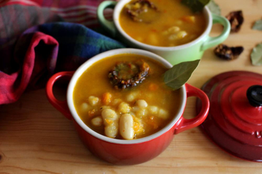 receta de alubias cremosas con tomates secos