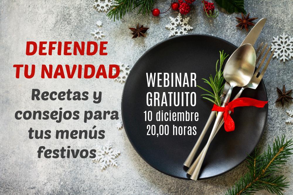 defiende tu Navidad - recetas y consejos para menús festivos