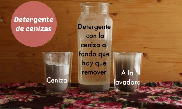 Cómo hacer detergente de cenizas