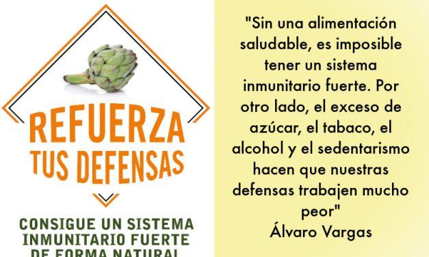 Refuerza tus defensas: entrevista a Álvaro Vargas