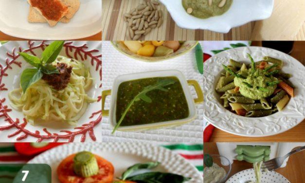 7 recetas de salsa pesto para alegrar todo tipo de platos
