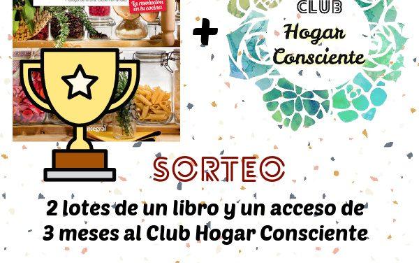 GANADORES SORTEO de 2 lotes con mi libro y acceso al Club Hogar Consciente