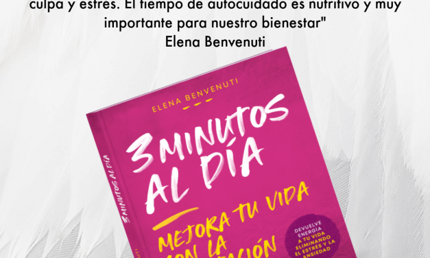 3 minutos de meditación al día dan para mucho. Entrevista con Elena Benvenuti